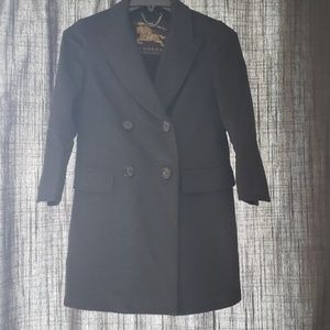 womens size 40 Burberry peacoat